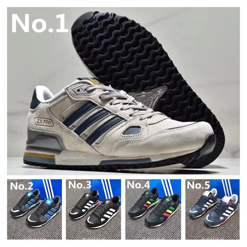 Desnatar Arreglo Sin valor  Sepatu Sneakers Lari Model Adidas ZX 750 Original untuk Pria | Shopee  Indonesia