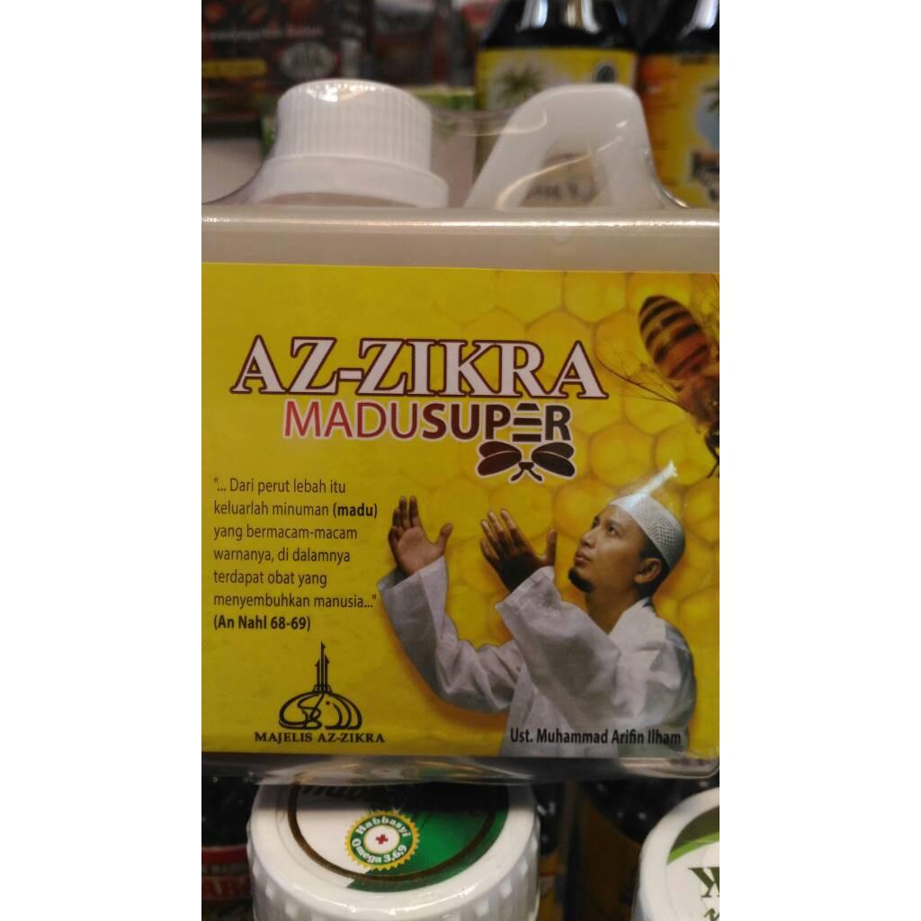 Madu Super Azzikra I Murni Asli Obat Segala Penyakit Az Zikra 500 Gram Aseli Shopee Indonesia