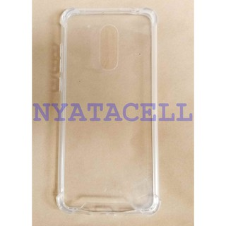 Case Anticrack Fiber Xiaomi Redmi 5+ Plus Anti Crack Fuze Knock Shock Casing Bentur Slim Clear TPU