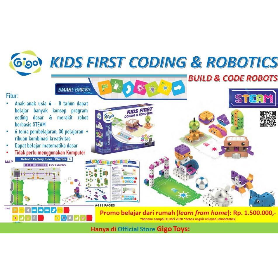 Gigo Kids First Coding & Robotics Belajar Pemrograman Coding ...