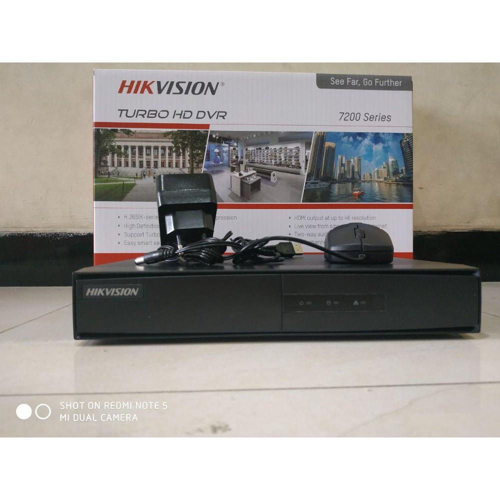 DVR Hikvision 4 Channel 1080P Lite DS 7204 HGHI F1 Terlaris