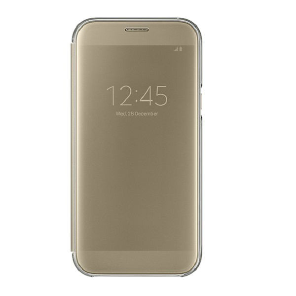 Samsung Original S View Cover Samsung Galaxy Note 5 - Gold | Shopee Indonesia