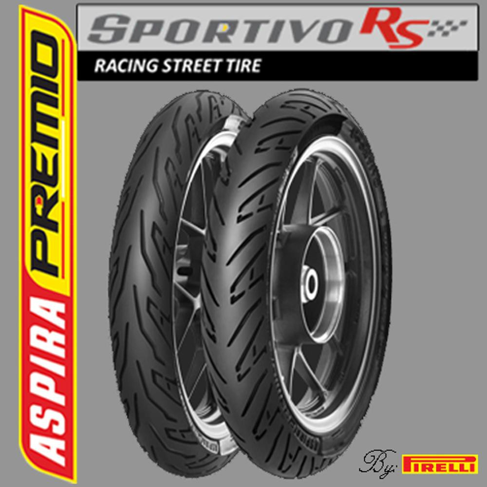 Sr Aspira Premio Sportivo Rs 90 80 17 Front Racing Compound Ban Rear Soft Slo4 Shopee Indonesia