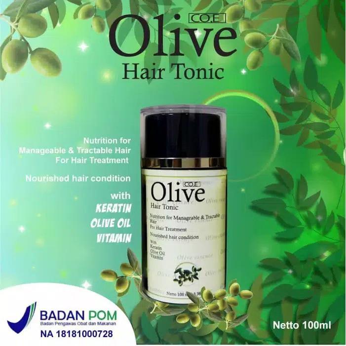 SYB CO.E Olive Hair Treatment - Shampoo Conditioner Tonic Black Kemiri Oil Mask Serum Kids-2