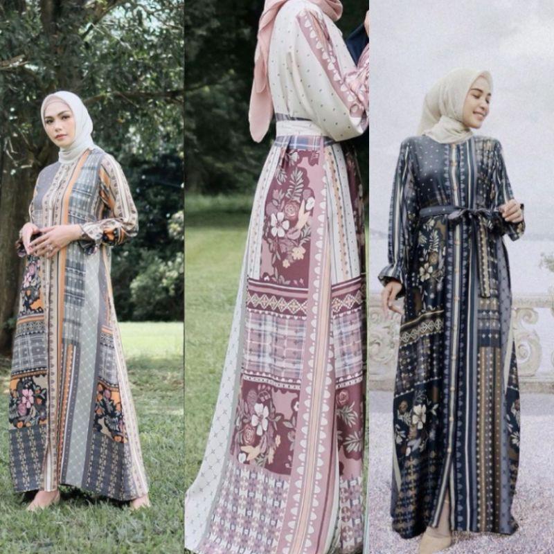 Binar Dress Vanilla Hijab- size M