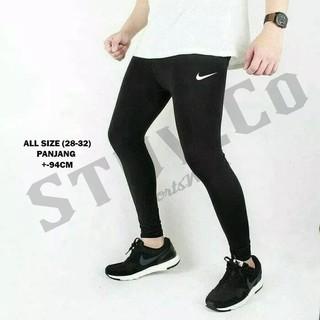 Celana Training Legging Leging Pria Wanita Jogging Gym Renang Diving Adidas Kiper Shopee Indonesia