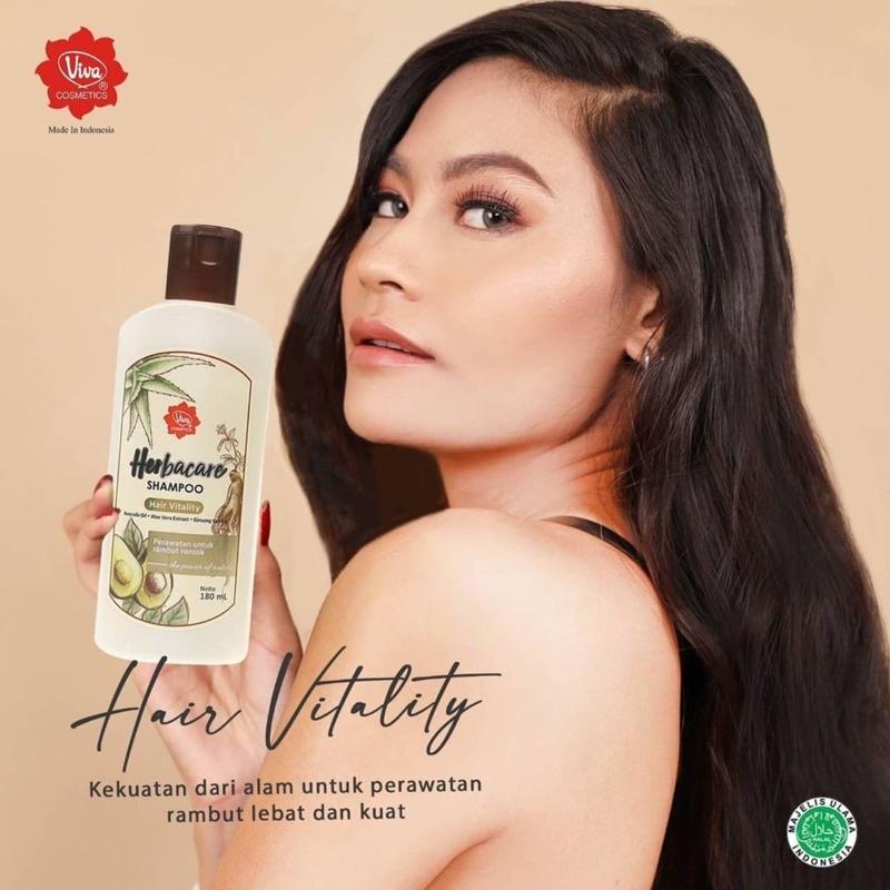 Viva Herbacare Shampoo - 180ml (tersedia 3 variant)-5