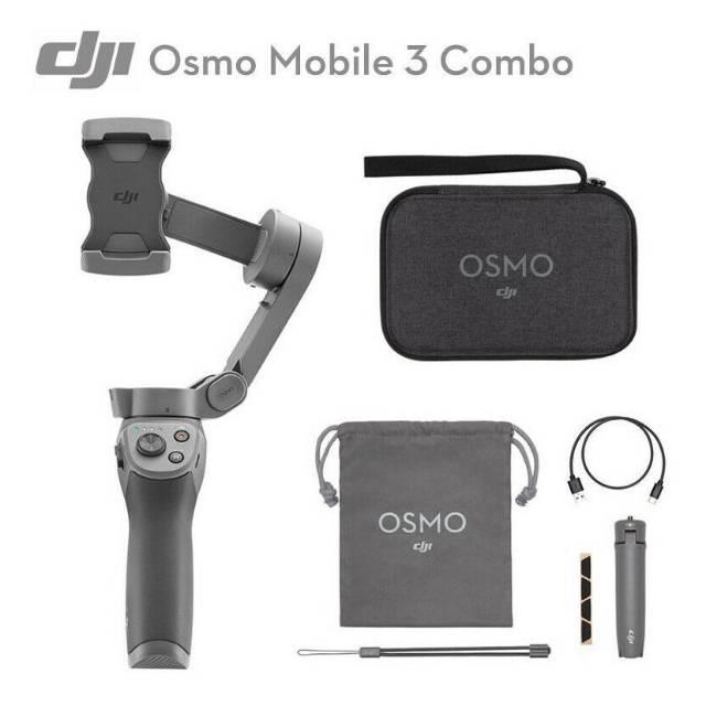 Dji Osmo Mobile 3 Combo Gimbal Shopee Indonesia