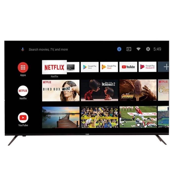 SUPER MURAH  Led Tv Aqua 43 inch 43inch LE43AQT1000U LE 43AQT1000 U FHD Android Digital