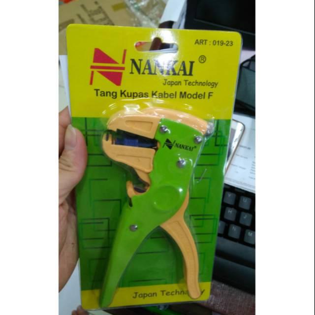 Tang Kupas Kabel Model F Nankai / Wire Stripper Model F NANKAI