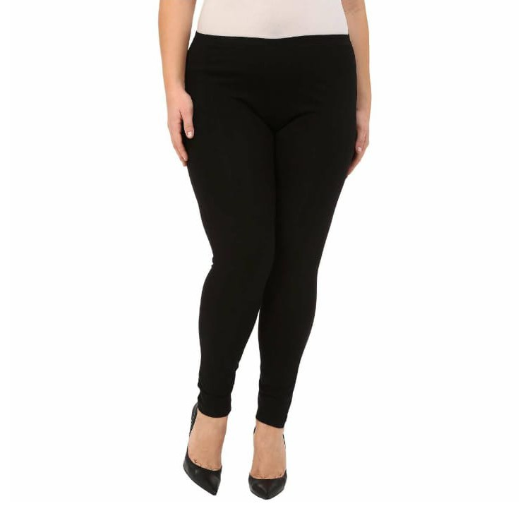 Celana Legging Wanita Hitam Panjang Size L Xl Xxl 3l 4l Jumbo Spandek Rayon Super Sport Shopee Indonesia