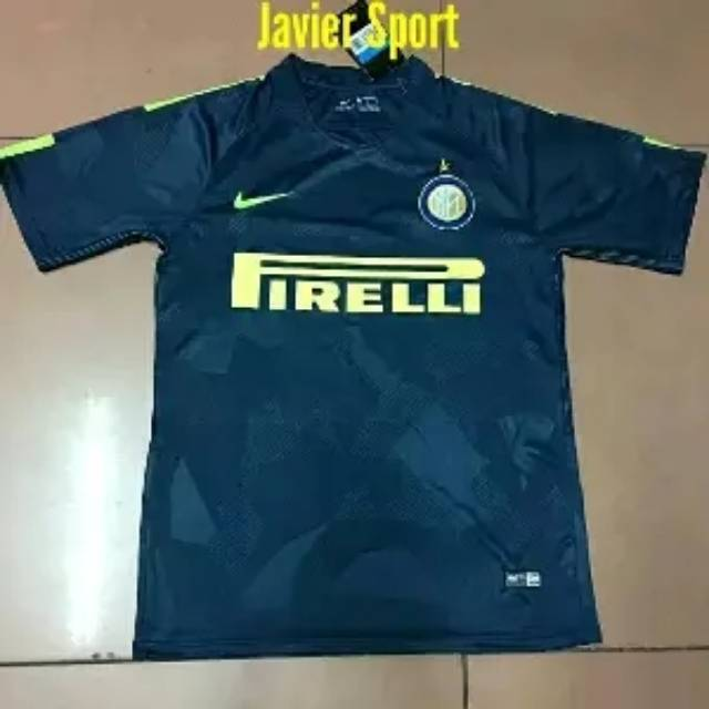 Jersey Inter Milan Go 3rd 2017 2018 Shopee Indonesia