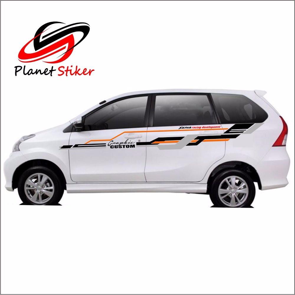 Cutting sticker stiker mobil xenia avanza racing sports jumbo istimewa murah n kualitas shopee indonesia