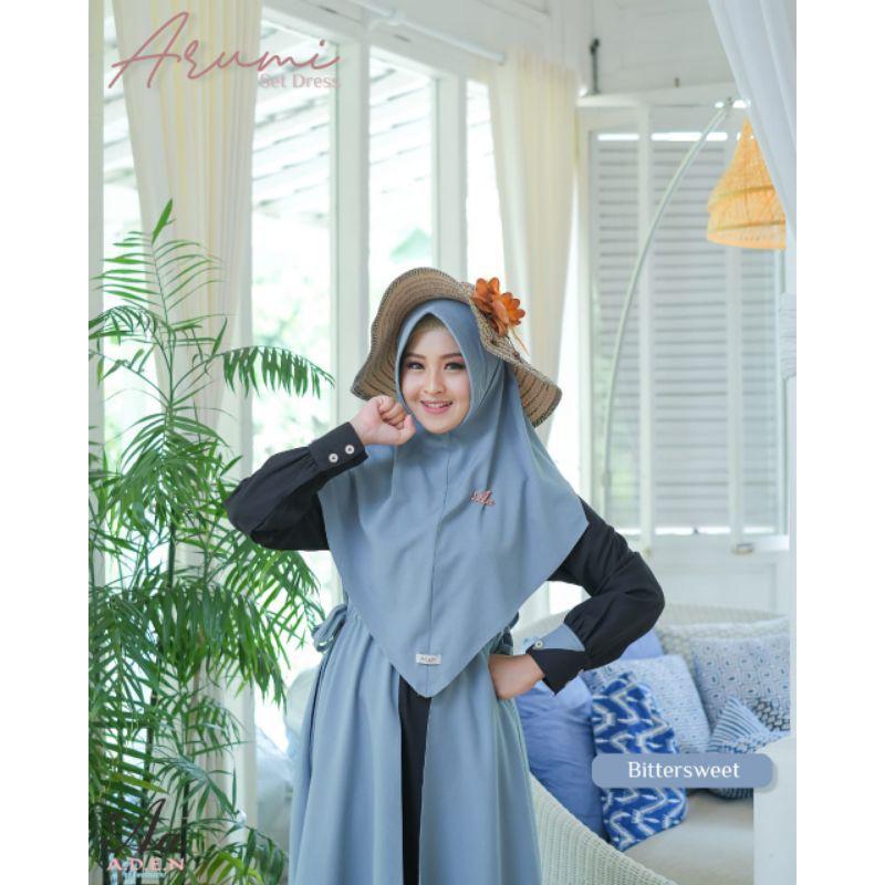 Gamis Arumi by Aden Hijab PO sampai 23 Februari