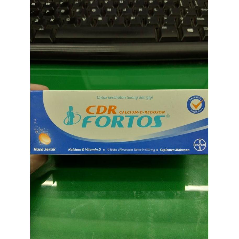 Cdr Fortos Suplemen Kalsium 10 Tablet Shopee Indonesia Rasa Jeruk 15