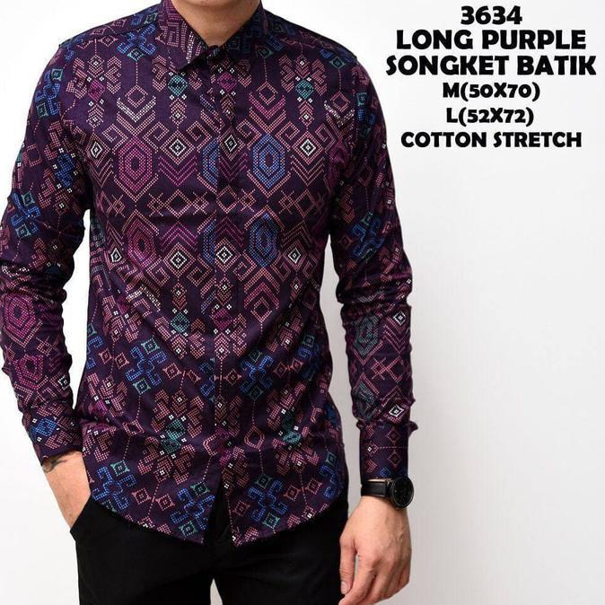 Diskon Kemeja Kotak Lengan Panjang Pria / Baju Kemeja Flanel Cowok Pria - Navy, M Terbaru | Shopee Indonesia