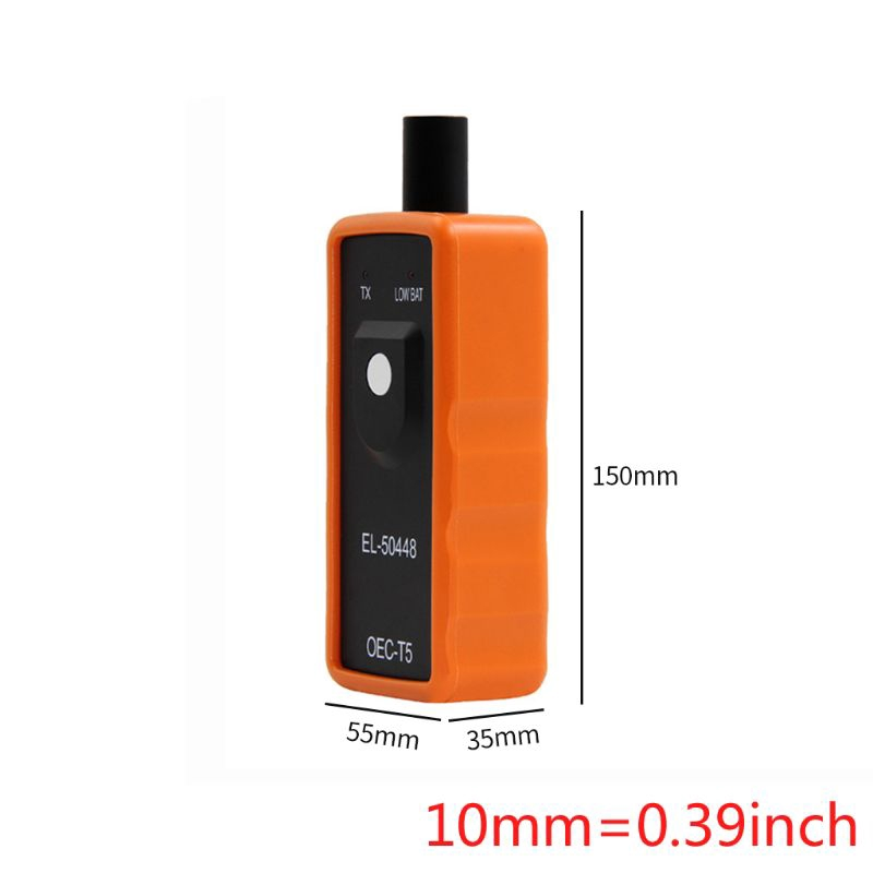 MEW Orange Black Pressure Monitoring Sensor EL-50448 Tire Pressure Resetter