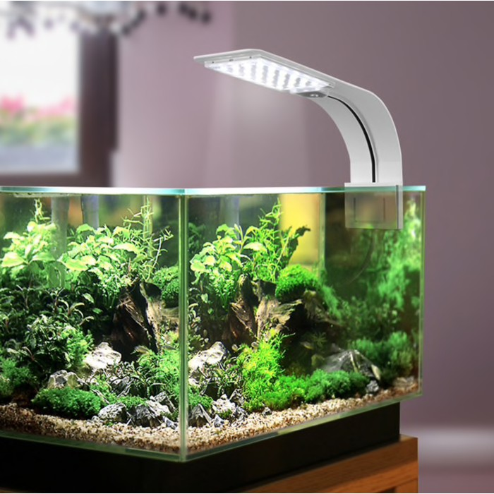 Lampu Aquarium Led 5730 Light Super Slim Clip On 10w X5 Shopee Indonesia