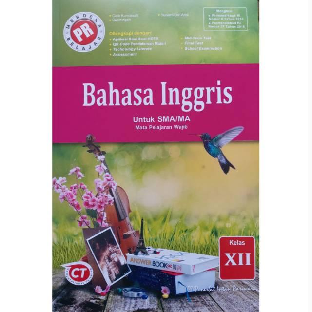 Buku Lks Pr Bahasa Inggris Kelas Xii 12 K13 Revisi Cetakan 2020 Shopee Indonesia