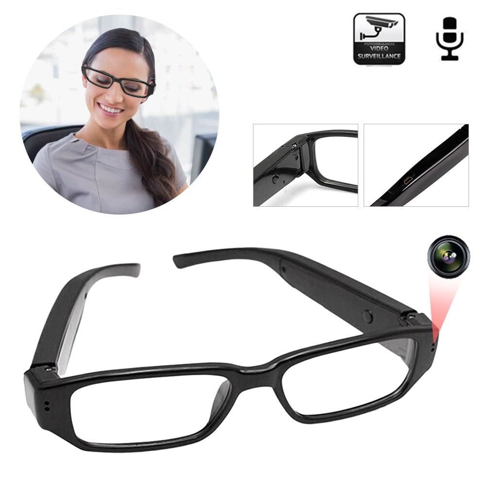 Mini HD 1080P//720P Camera Glasses Hidden Eyewear DVR Recorder Camcorder US