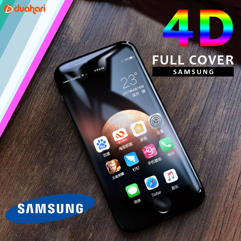 SCREEN PROTECTOR TEMPERED GLASS SCREEN SMART-G – SAMSUNG Y53 4D BLACK | Shopee Indonesia
