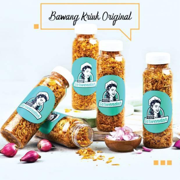 Resep Sarwendah Bawang Kriuk Krispy Original Spicy Kering 85gr Shopee Indonesia