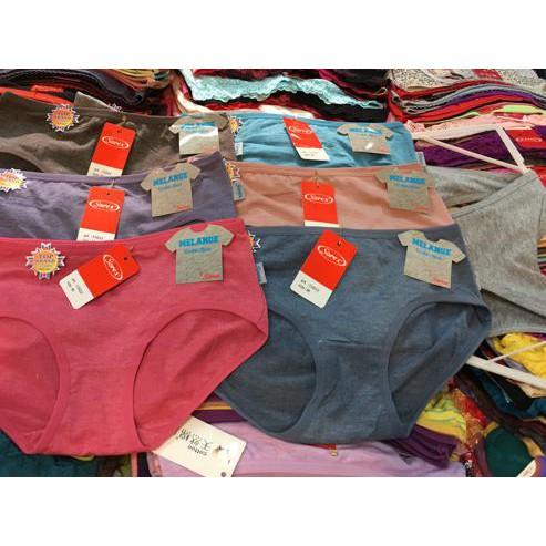 (Tren terbaru) Celana Dalam Wanita Seamless Tanpa Jahitan Segi Empat Tally  2807 Promo. da14ab1459