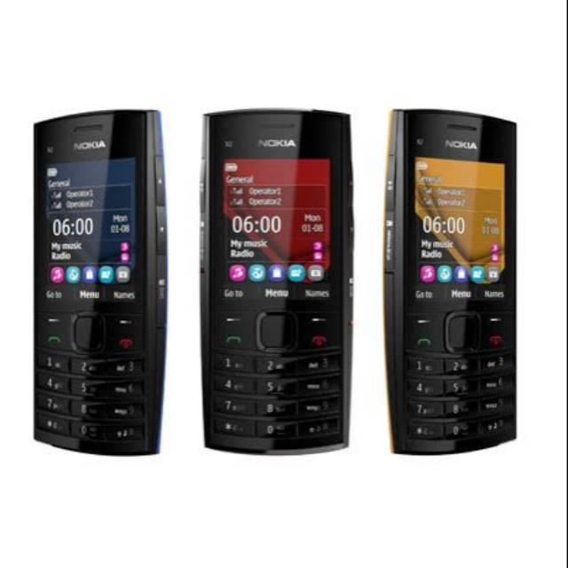 Nokia X2 02 Express Music Dual Sim Handphone Nokia Jadul Murah
