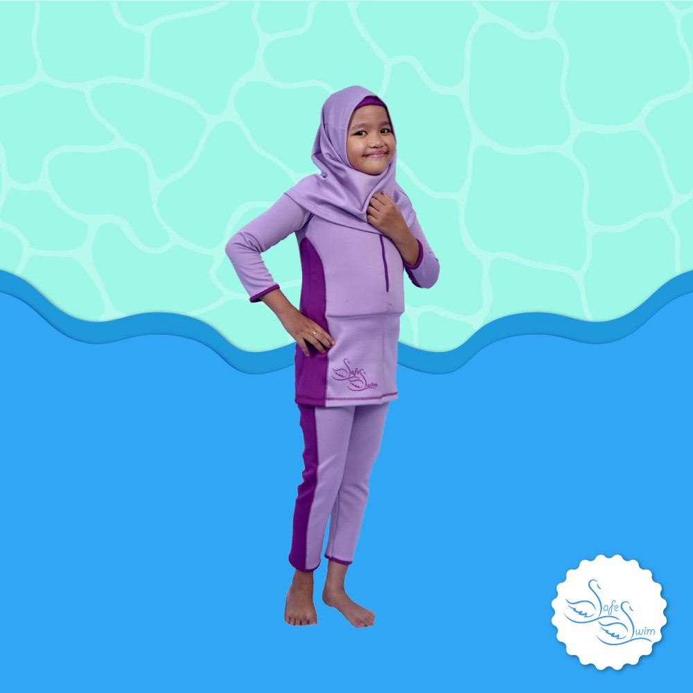 Baju Renang Anak Mengapung Safe Swim Model 3 Lengan Panjang Yellow Blue Size M Shopee Indonesia