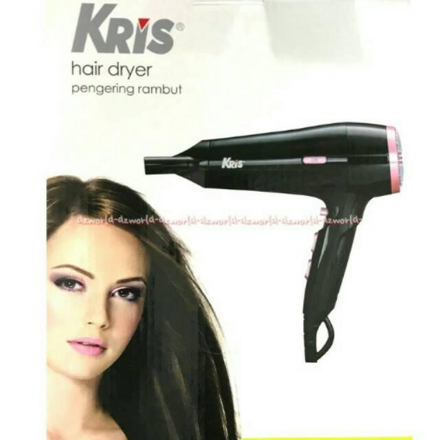 Kris Hair Dryer Pink-Hitam dengan Daya 800 Watt dan 2 Pemanasan 2400gr  PALING DI CARI  3c6d9967be