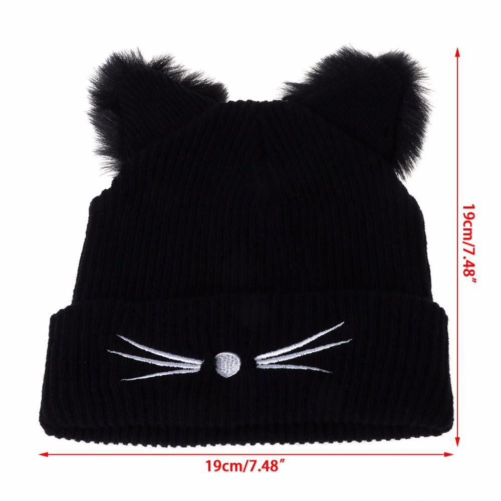 Men's Skullies & Beanies Women Winter Hat Novelty Unisex Cute Rabbit Ear Hat Can Move Airbag Magnet Cap Plush Gift Dance Toy Hat Bonnet Femme F In Many Styles