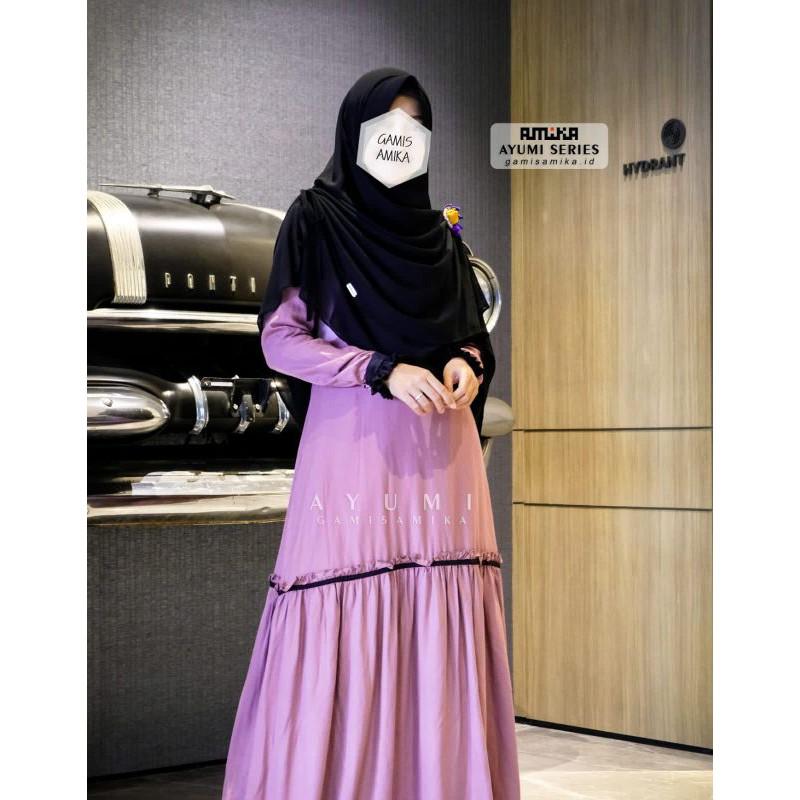 Gamis Amika Ayumi Series Shopee Indonesia