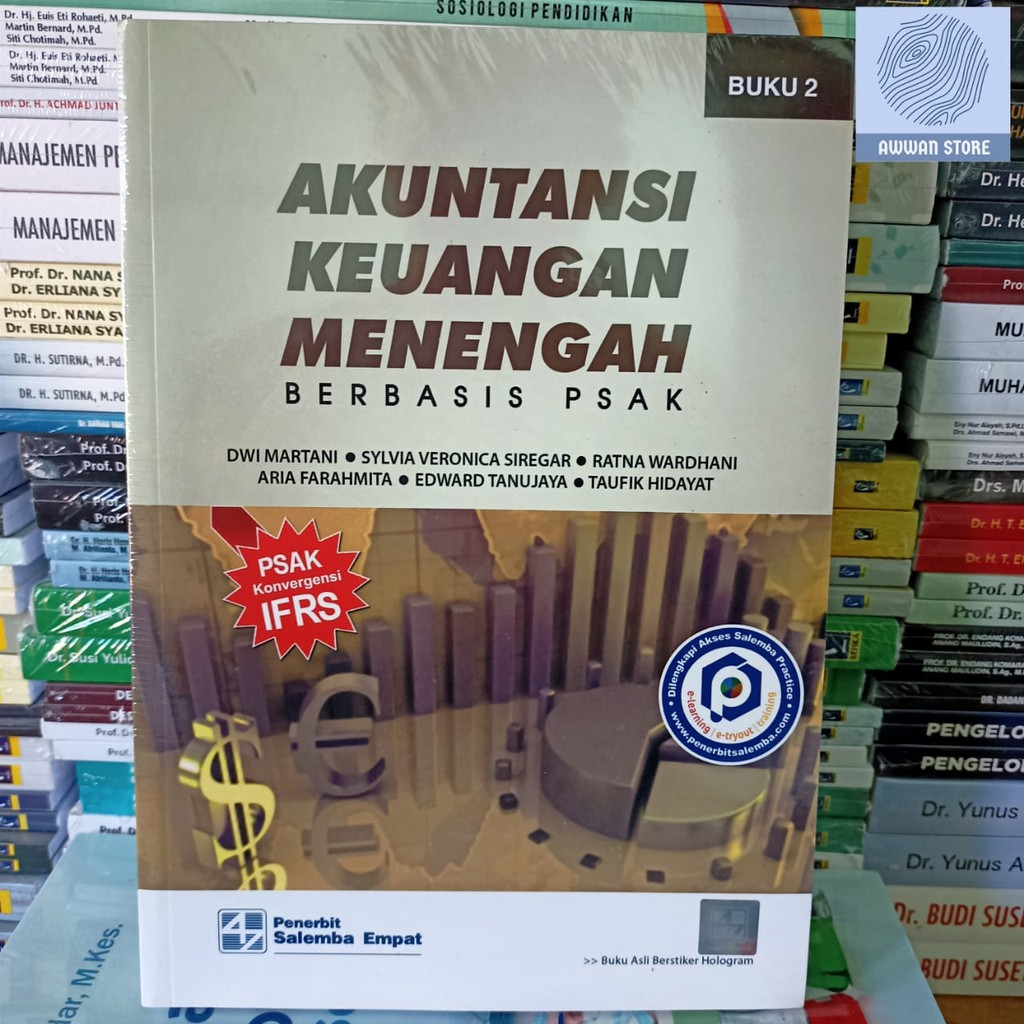 Akuntansi Keuangan Menengah Berbasis Psak Bk 2 Oleh Dwi Martani Dkk Shopee Indonesia