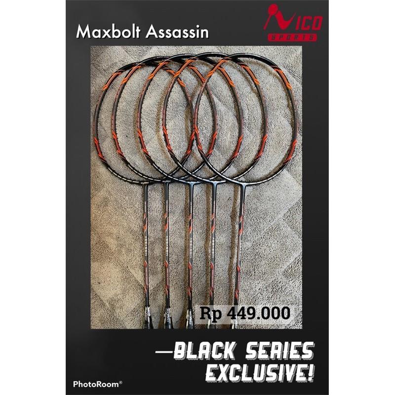 Raket Maxbolt Assassin Black Series Exclusive