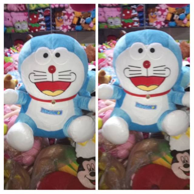 Boneka Doraemon Ukuran 45 Cm Xl Boneka Dora Emon Boneka Mainan Kado Sovenir Dora Emon Shopee Indonesia