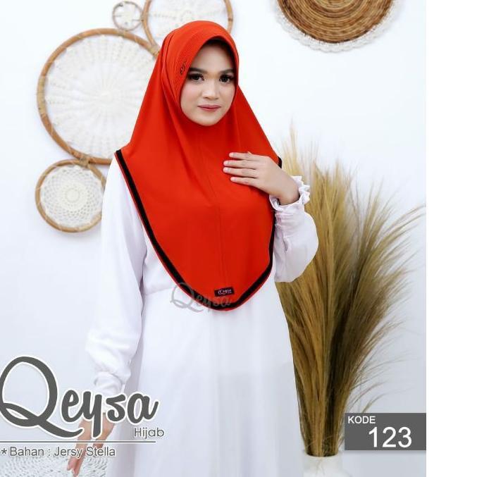 [ PREMIUM ] -88 > Qeysa Hijab Original /Qeysa Hijab kode 107 / Qeysa List hijab Original / Jilbab Qe