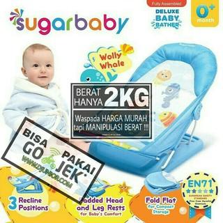 Promo SUGAR BABY - DELUXE BABY BATHER / TEMPAT MANDI BAYI / KURSI MANDI 4886 | Shopee Indonesia