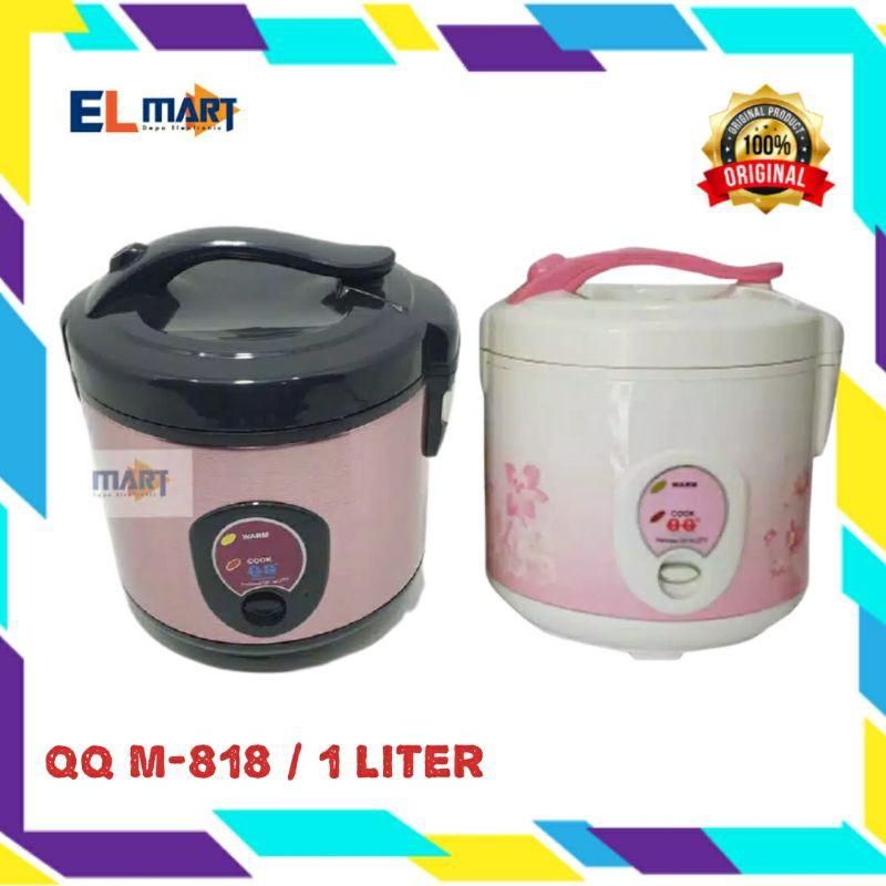 Qq National Magic Com 1 Liter M818 M 818 Penanak Penghangat Nasi Rice Cooker Shopee Indonesia