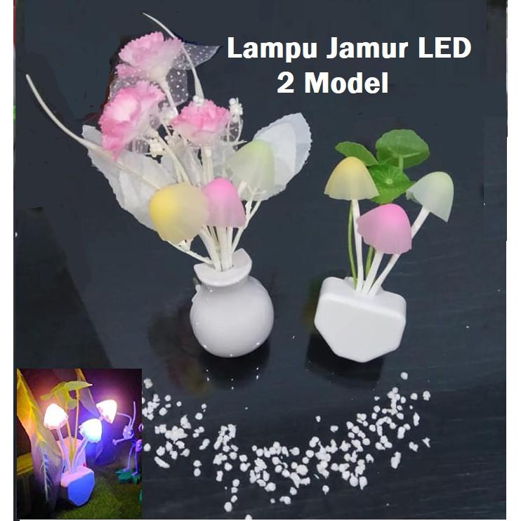 Lampu Tidur Lampu Hias LAMPU JAMUR LED Jamur Unik Model Avatar+SENSOR   Shopee Indonesia