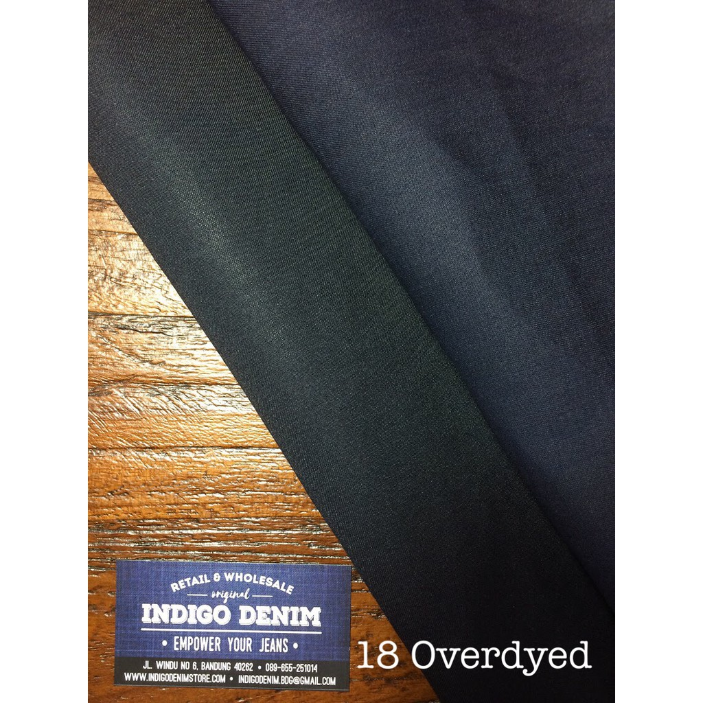 20 Denim Blue Navy Washed Non Stretch Light Weight Bahan Kain Kemeja Pria Lengan Pendek Benedict Ss Shopee Indonesia