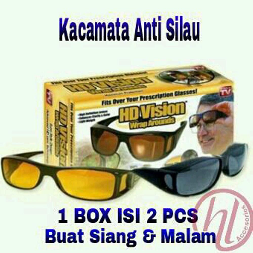KACAMATA ANTI UV NIGHT VIEW GLASSES NIGHTVISION KACAMATA MENYETIR ANTI SILAU  SIANG DAN MALAM  66cbc2e87f