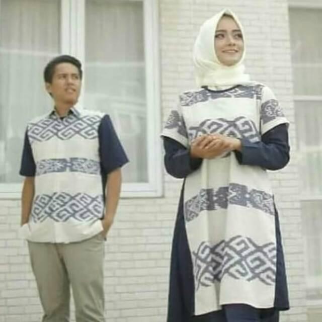 Terlaris Baju Couple Keluarga Baju Couple Kain Tenun Motif Toraja Baju Pesta Motif Etnik Shopee Indonesia