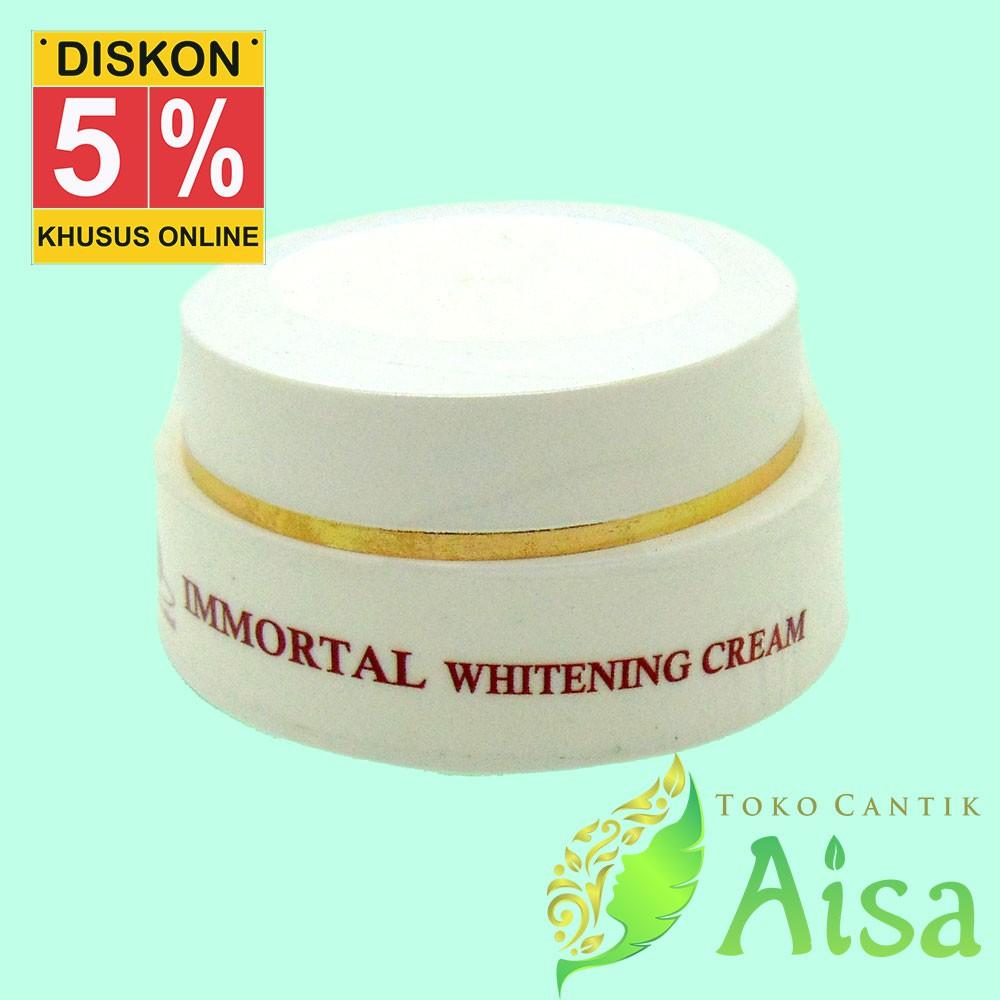 Immortal Whitening Cream - Krim Pemutih Wajah | Flek | Pencerah | Shopee Indonesia