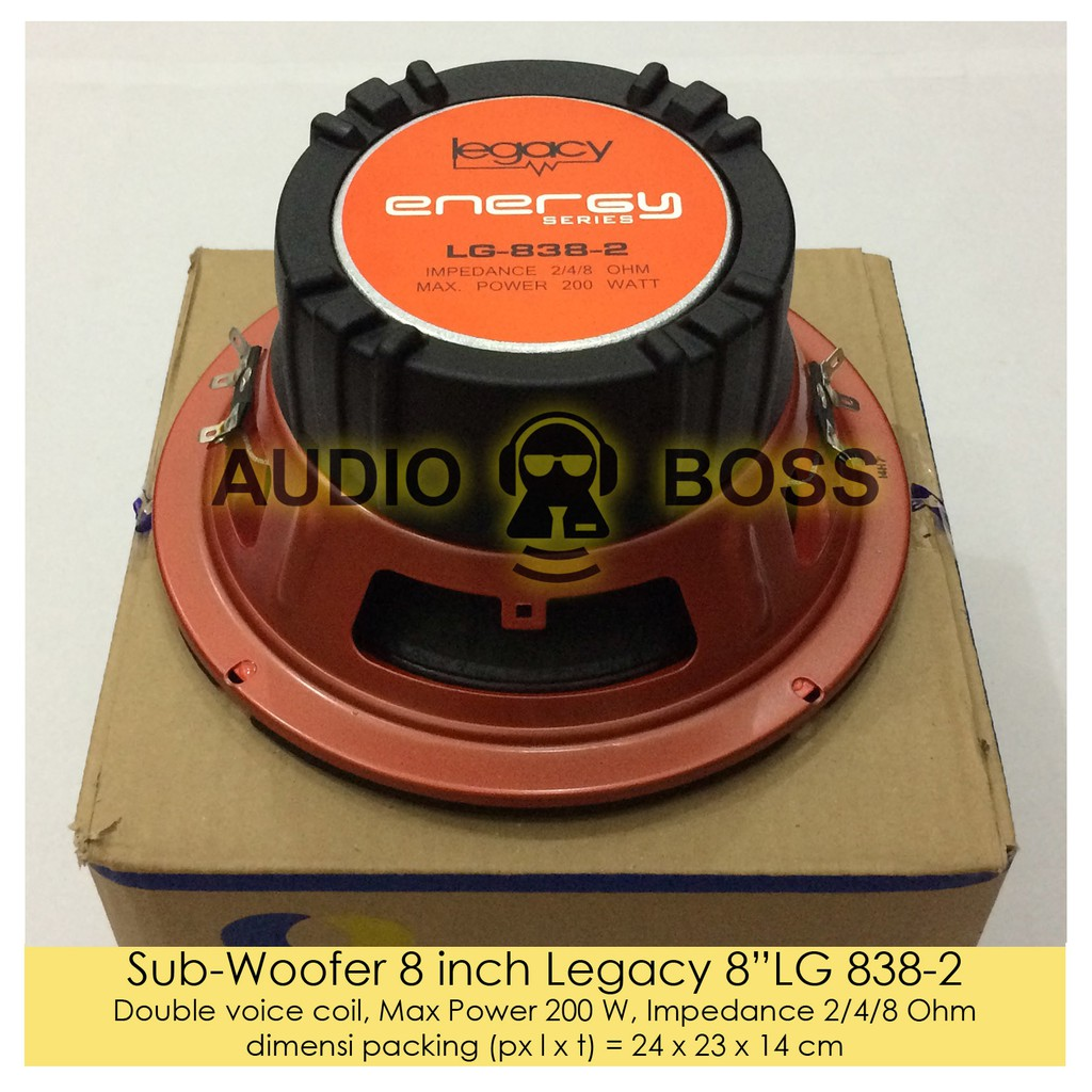 Promo Subwoofer Legacy 12 Inch Lg 12385 2 Sparta Series Limited Shopee Indonesia