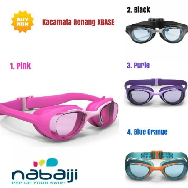 Kacamata Renang Anti Kabut + Penutup Telinga + Klip Hidung + Penutup  Telinga untuk Berenang  9ef1a36d90