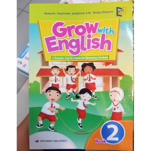 Buku Bahasa Inggris Grow With English Sd Kelas 2 Shopee Indonesia