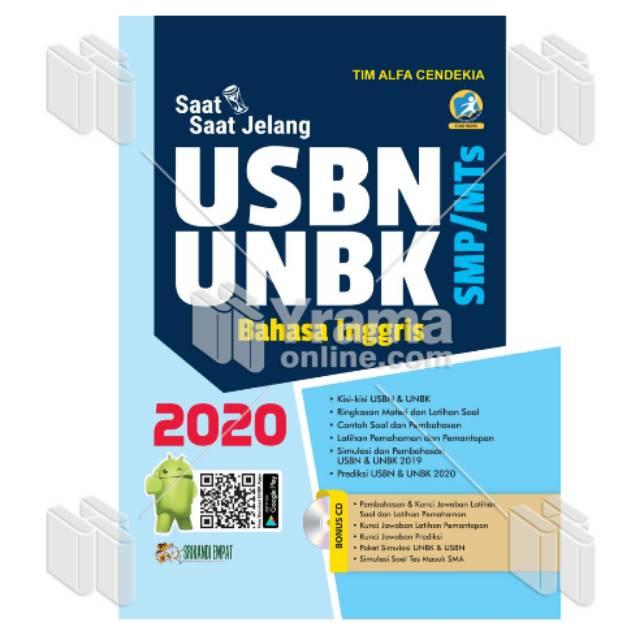 Buku Un Sma Usbn Unbk Bahasa Inggris Smp Mts 2020 Shopee Indonesia