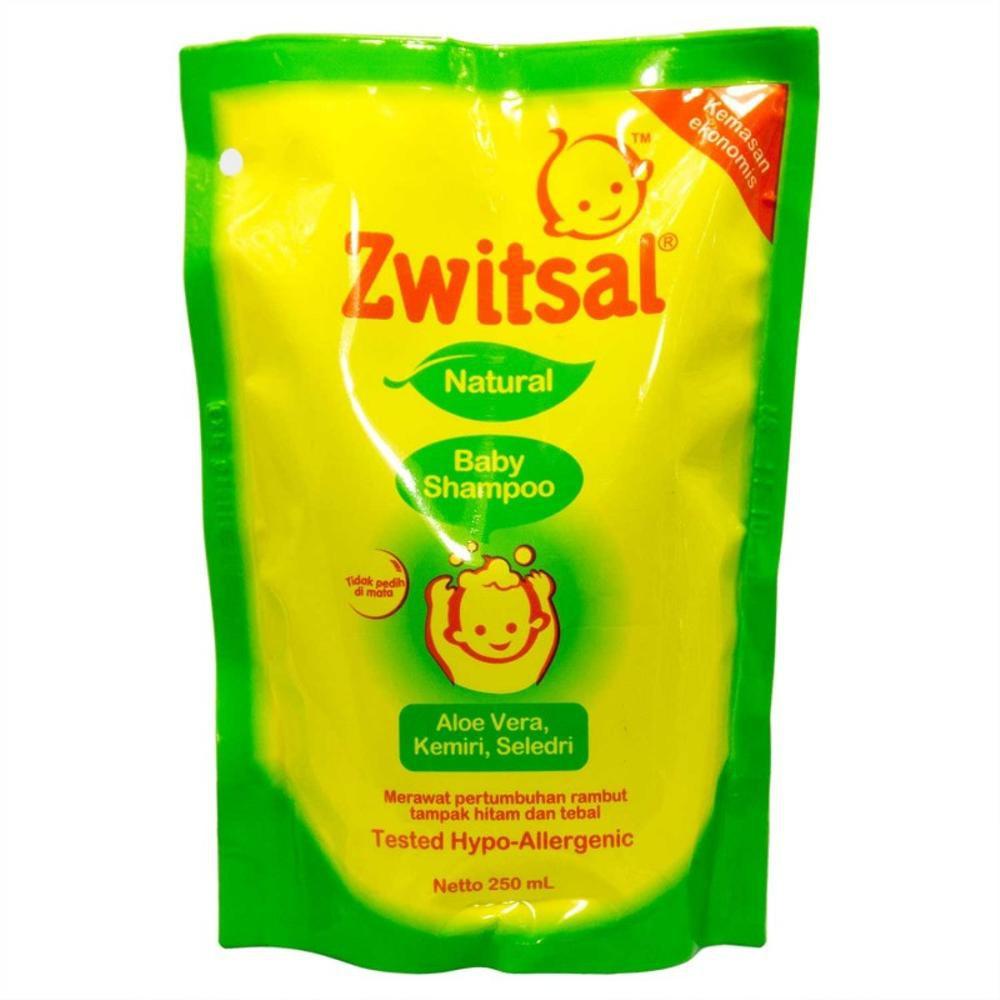 Zwitsal Baby Shampoo Natural Avks Refill 250ml Zbb017 Heboh 3 Pack My Minyak Telon Plus 90 Ml