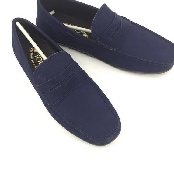 Berkualitas Jual Sepatu Loafers Lv Suede Black Mirror Quality 1 1 Original  Baru  7c5b94db00