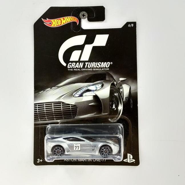 Murah Banget ü Hotwheels Aston Martin One 77 Gran Turismo 1 Card Hitam Laris Banget Shopee Indonesia